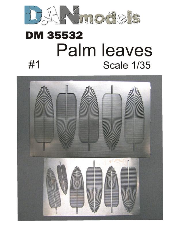 DM 35532   Palm leaves #1