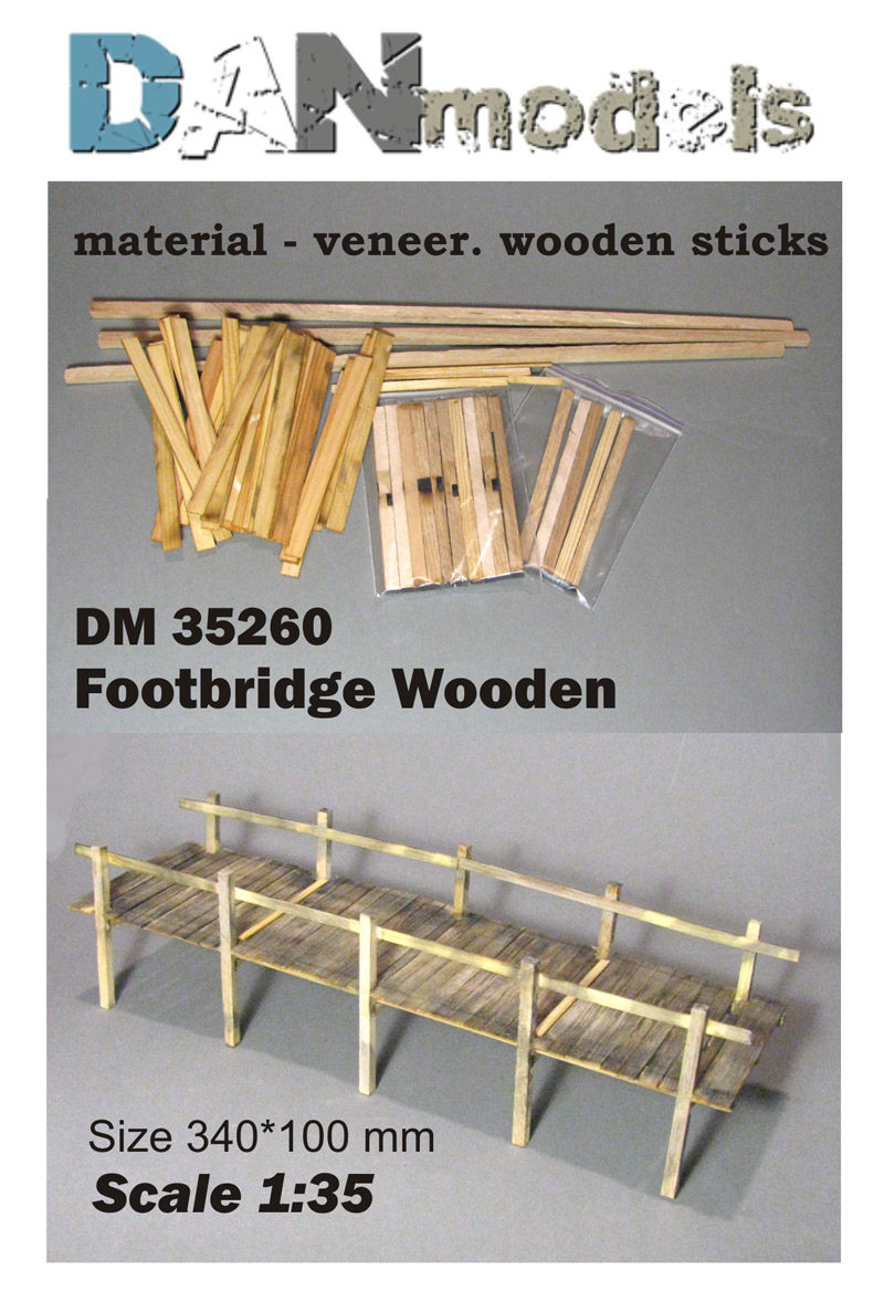 DM 35260   Footbridge Wooden