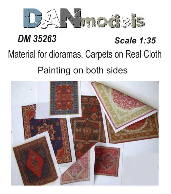 DM 35263 Material for dioramas. Carpets on real cloth 1/35 #3