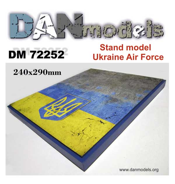 DM 72252 Stand model. Ukraine Air Force