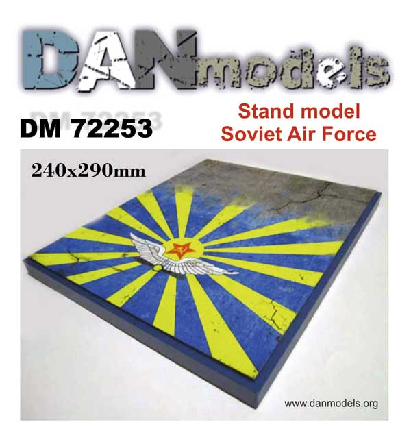 DM 72253 Stand model. Soviet Air Force