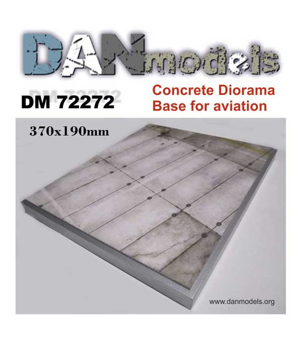 DM 72272 Concrete diorama. Base for aviation