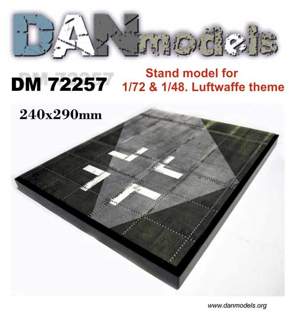 DM 72257 Stand model. Luftwaffe theme. 240*290mm