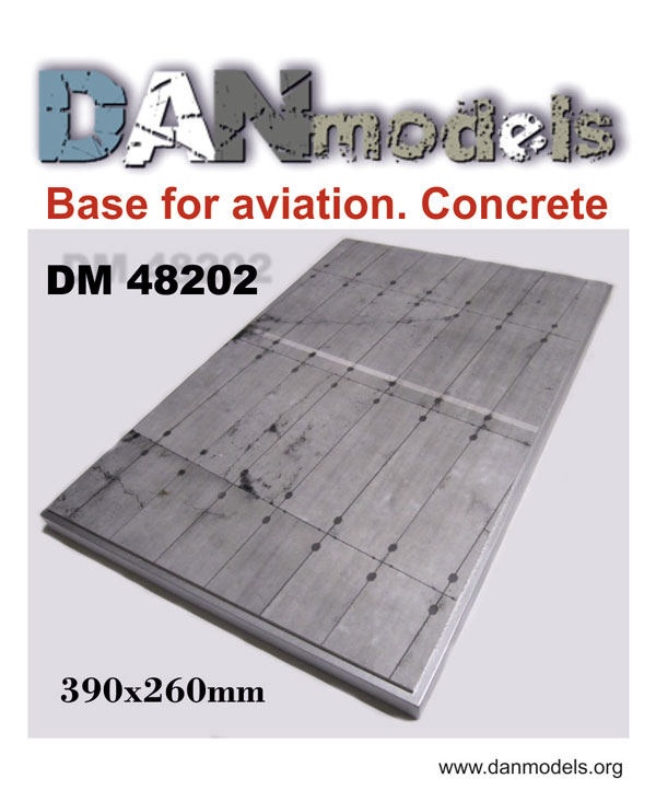 DM 48202  Base for aviation. Concrete