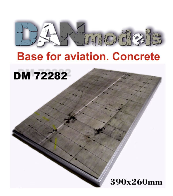DM 72282  Base for aviation #1. Concrete