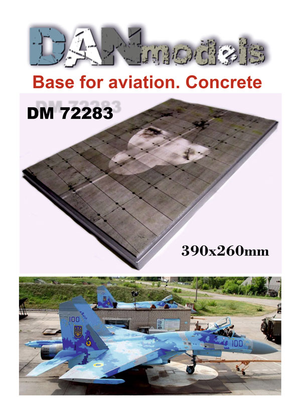DM 72283  Base for aviation #2. Concrete